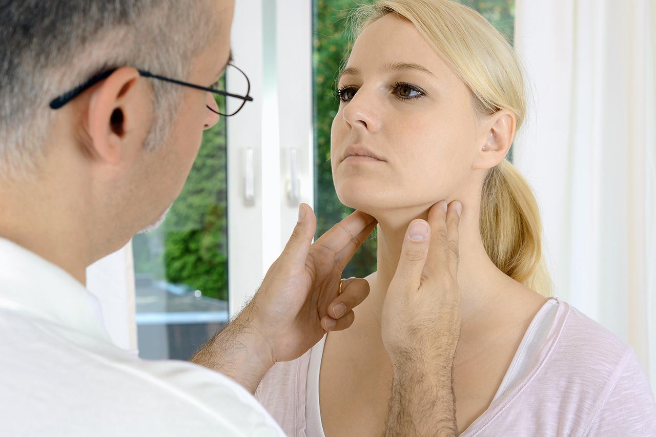 throat checkup
