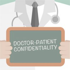 Doctor-patient confidentiality for HIV