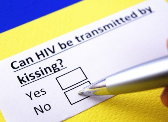 Can I get HIV from kissing?